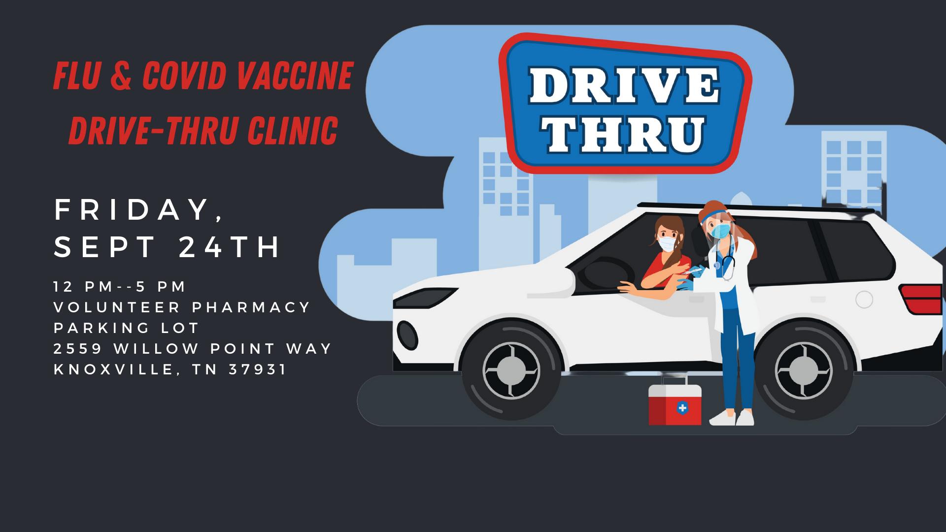 Drive-Thru Vax Clinic